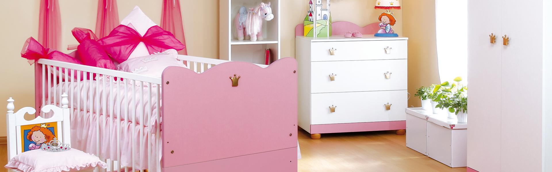 Kolekcja mebli dziecięcych Księżniczka