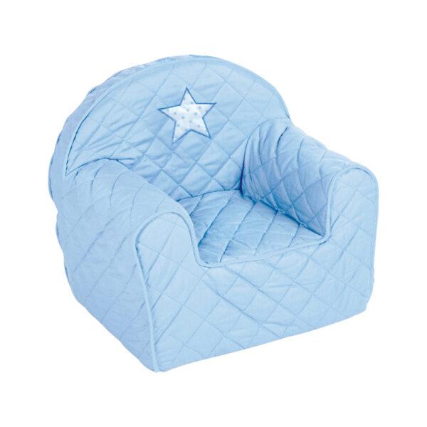 Fotelik Niebieski