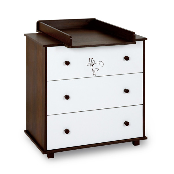 Safari Giraffe Chest Of Drawers With Changing Tray KlupŚ