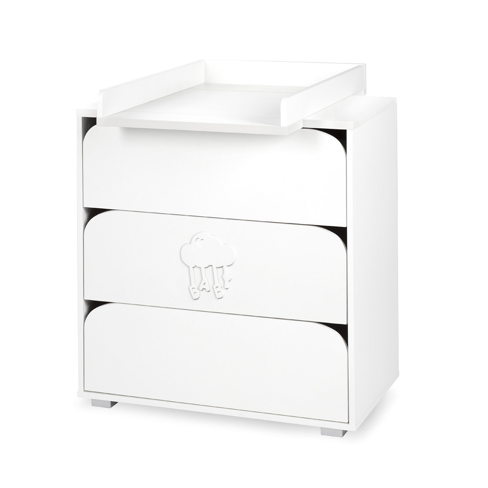 Nel Cloud chest of drawers with changing tray