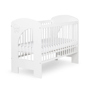 NEL - CLOUD - white baby cot