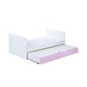 Łóżko Dalia pink funkcja tapczanika