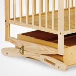 System kołysania łóżeczka