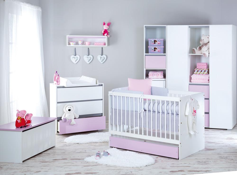 Meble do pokoju dziecięcego - Dalia Pink
