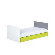 Łóżko Irene Lime z pojemnikiem