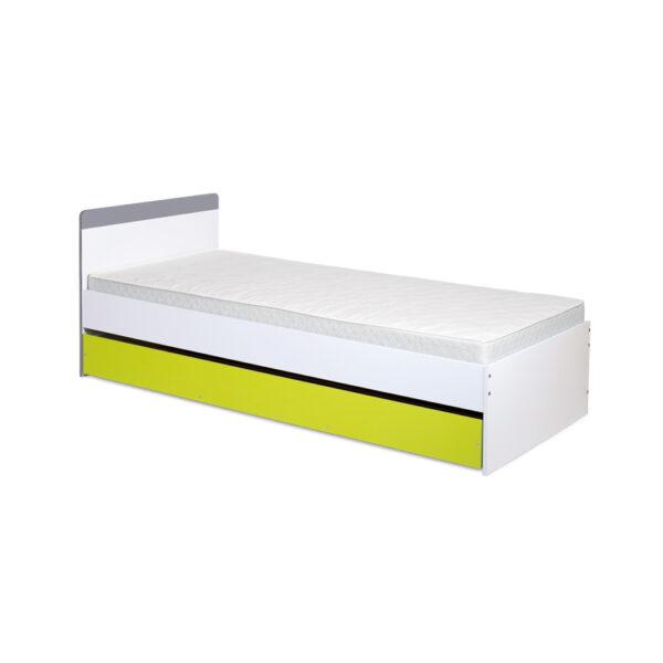 Łóżko Irene Lime 204x94 z szufladą