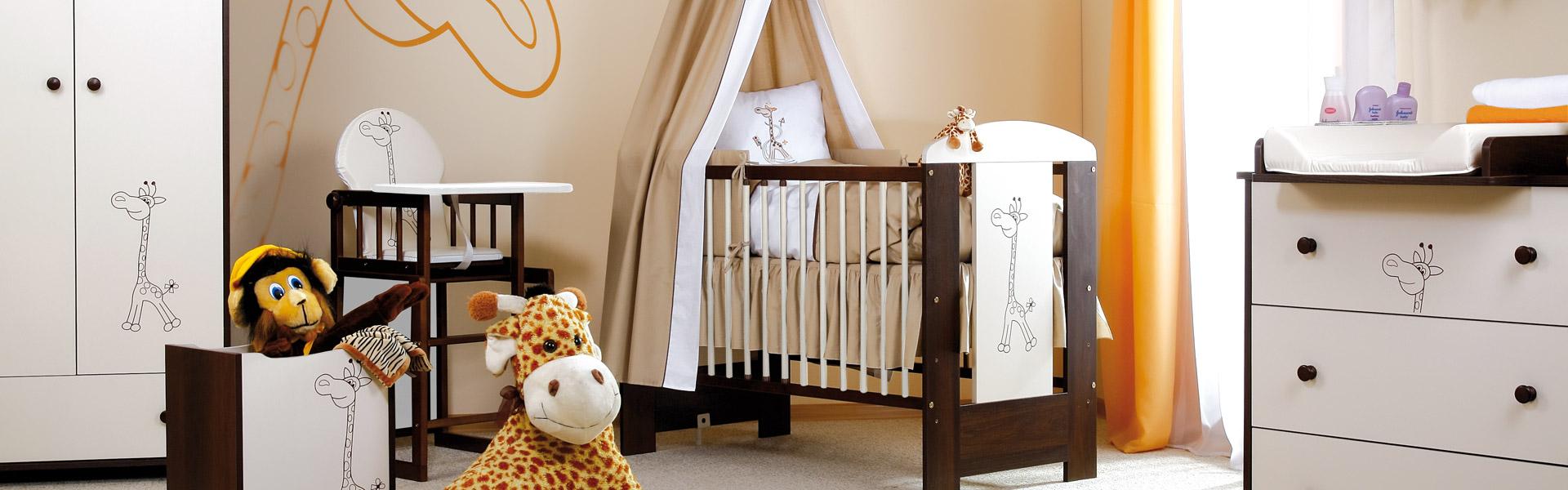 meble dla dziecka - Safari Żyrafka białe szczeble